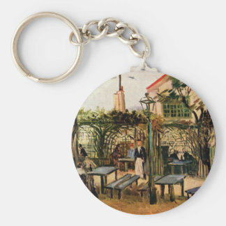 The Outside Cafe - Vincent Van Gogh Keychain