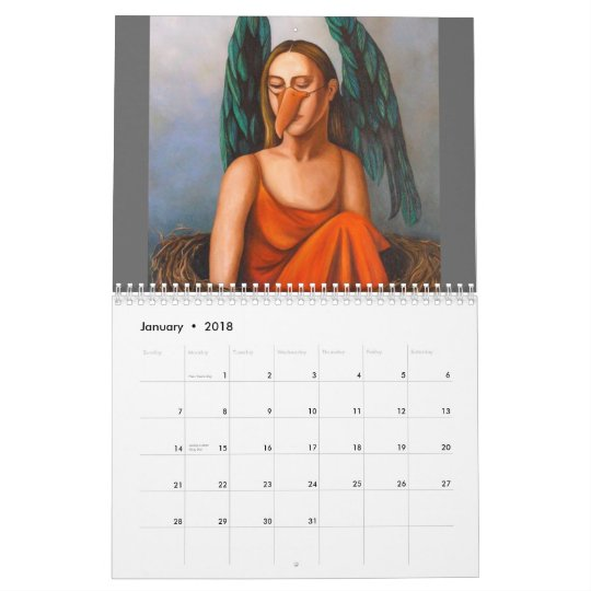 The Outsider 1, 2011, M, A, S, K, S Calendar