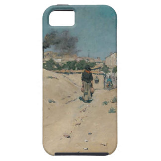 The Outskirts of Madrid by William Merritt Chase iPhone SE/5/5s Case