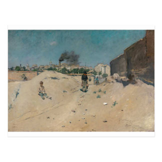 The Outskirts of Madrid by William Merritt Chase Postcard
