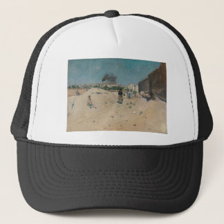 The Outskirts of Madrid by William Merritt Chase Trucker Hat