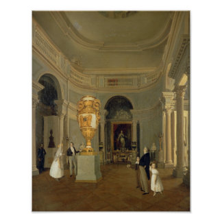 The Oval Hall of the Old Hermitage, St Poster