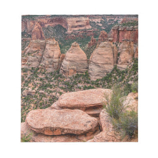 The Ovens Rock Formation Western Landscape Notepad