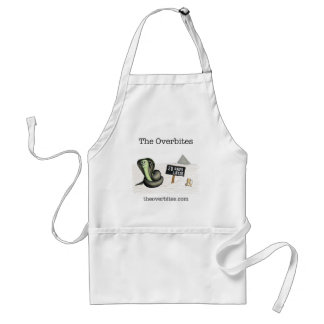 The Overbites - 28 Days Later Adult Apron