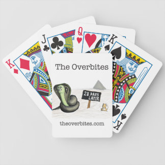 The Overbites - 28 Days Later Bicycle Playing Cards