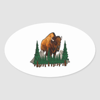 The Overlook Oval Sticker