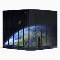 overseer, planet, emperor, windows, space, science-fiction, digital blasphemy, fantasy, science fiction, Fichário com design gráfico personalizado