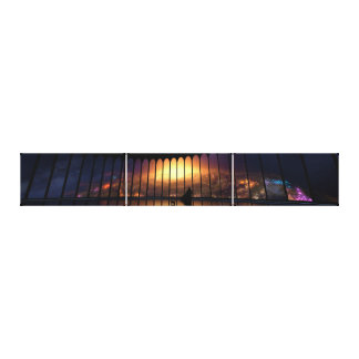The Overseer Panorama Canvas Print