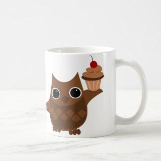 The Owl and the Cupcake Coffee Mug