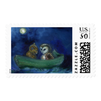The Owl and the Pussycat 2014 Postage