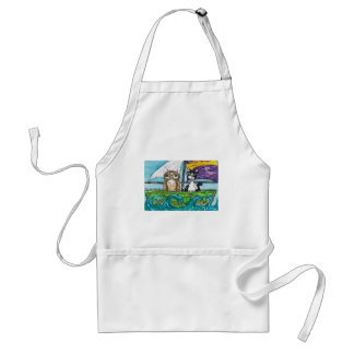 The Owl and the Pussycat Adult Apron