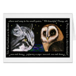 The Owl and the Pussycat - Bonorand Art Greeting Cards