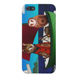 The Owl and the Pussycat Cover For iPhone SE/5/5s