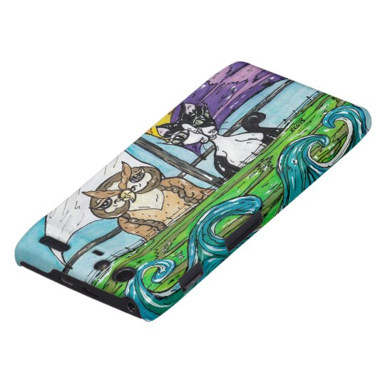 The Owl and the Pussycat Droid RAZR Case