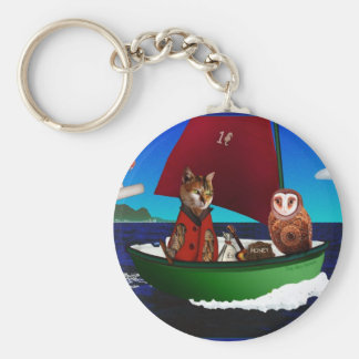 The Owl and the Pussycat Keychain