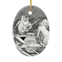 """The Owl and the Pussycat""  Ornament"