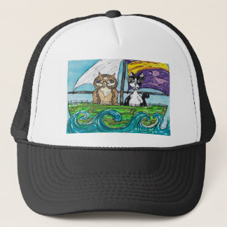 The Owl and the Pussycat Trucker Hat