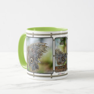 The Owl Butterfly Mug