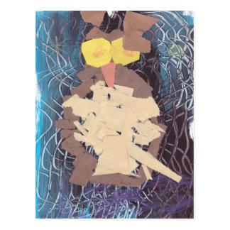 """""""The Owl"""" By Elijah Albrecht Postcard"""