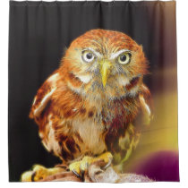 The OWL by JamColors Shower Curtain