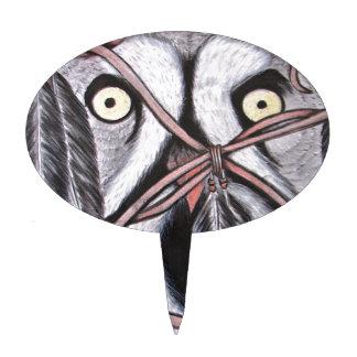 The Owl Cake Topper