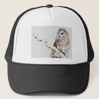 the owl came trucker hat