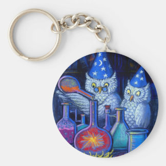 The Owl Chemists Keychain