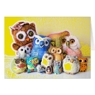 The Owl Family Cards