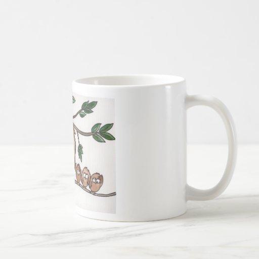 The Owl Family Coffee Mug