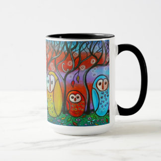 The Owl Family Mug
