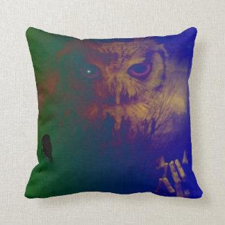 The owl has wisdom throw pillow