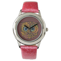 the owl hour wrist watch