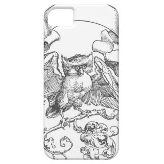 The owl in fight with other birds by Albrecht Dure iPhone SE/5/5s Case