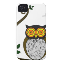 The owl iPhone 4 cover