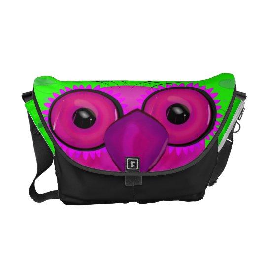 The Owl Messenger Bag