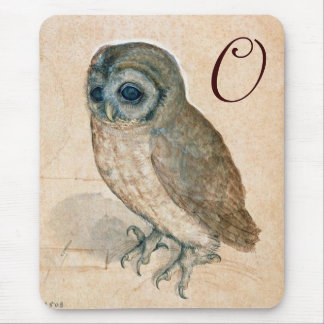 THE OWL MONOGRAM MOUSE PAD
