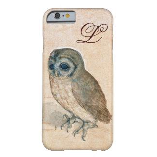 THE OWL PIink Sepia Monogram iPhone 6 Case