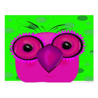 The Owl Postcard