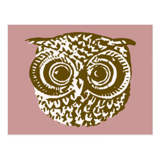 The owl postcard