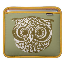 The Owl Sleeve For iPads