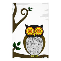 The owl stationery