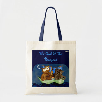 The Owl The Pussycat Tote Bag