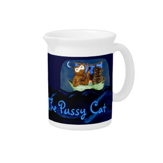 The Owl & The Pussycat Beverage Pitchers