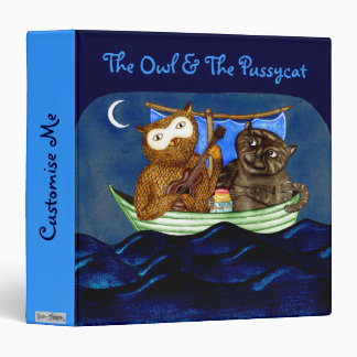 The Owl The Pussycat Binders