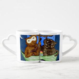 The Owl & The Pussycat Coffee Mug Set