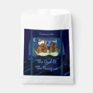 The Owl & The Pussycat Favor Bag