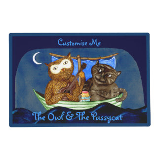 The Owl & The Pussycat Placemat