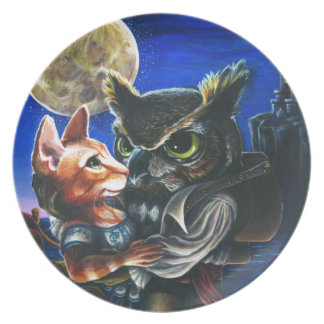 The Owl & the Pussycat Plates