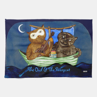The Owl & The Pussycat Towels