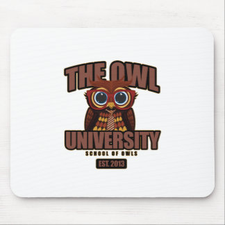 The Owl University Mouse Pad